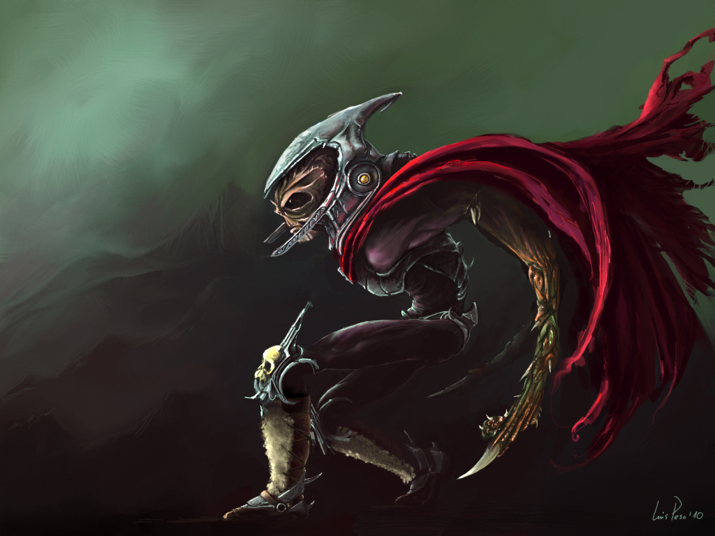 Dark Soldier Concept