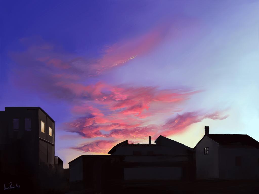 Sunset, Granada